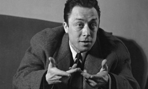 Literal and metaphorical ... Albert Camus during a visit to London. Photograph: Kurt Hutton/Getty Images