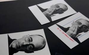 FOTOS DE BOB WOLFESON EM CENA DO DOCUMENTÁRIO 'PARA SEMPRE TEU, CAIO F.', SOBRE O ESCRITOR